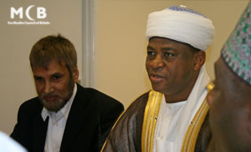 2008 - Sultan of Sokoto at MCB office
